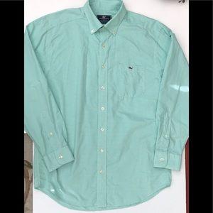 Vineyard Vines Mens Classic Fit Tucker Shirt L/S